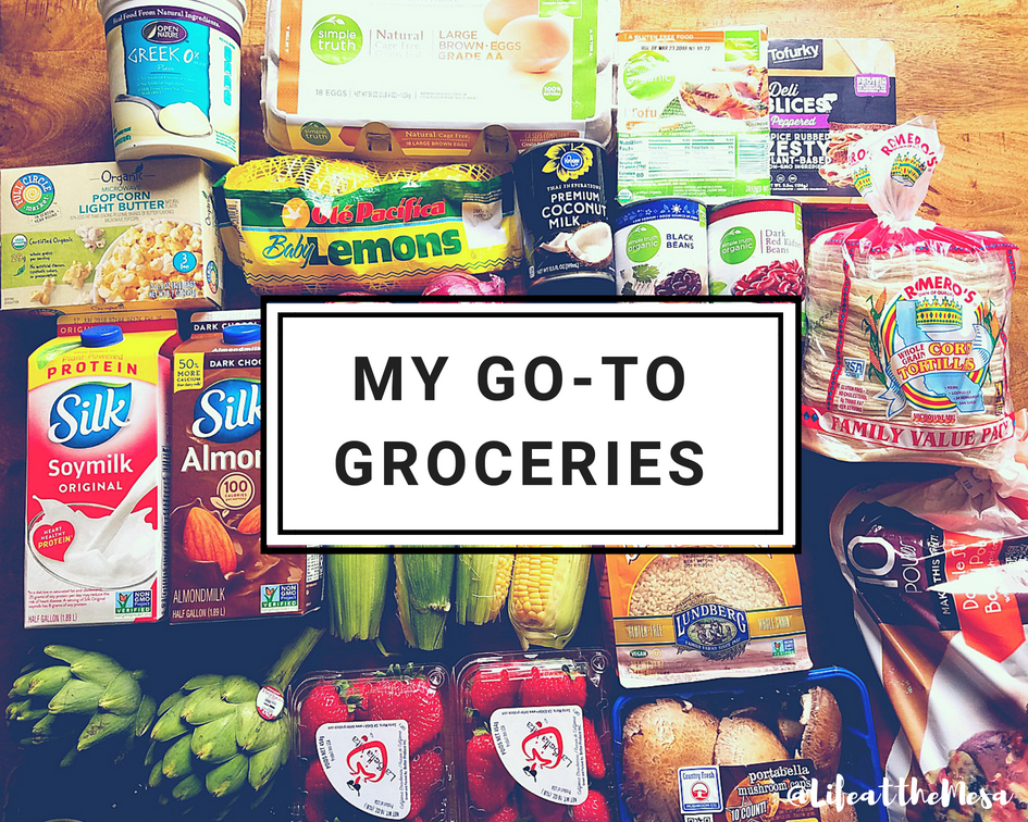 my go-to groceries